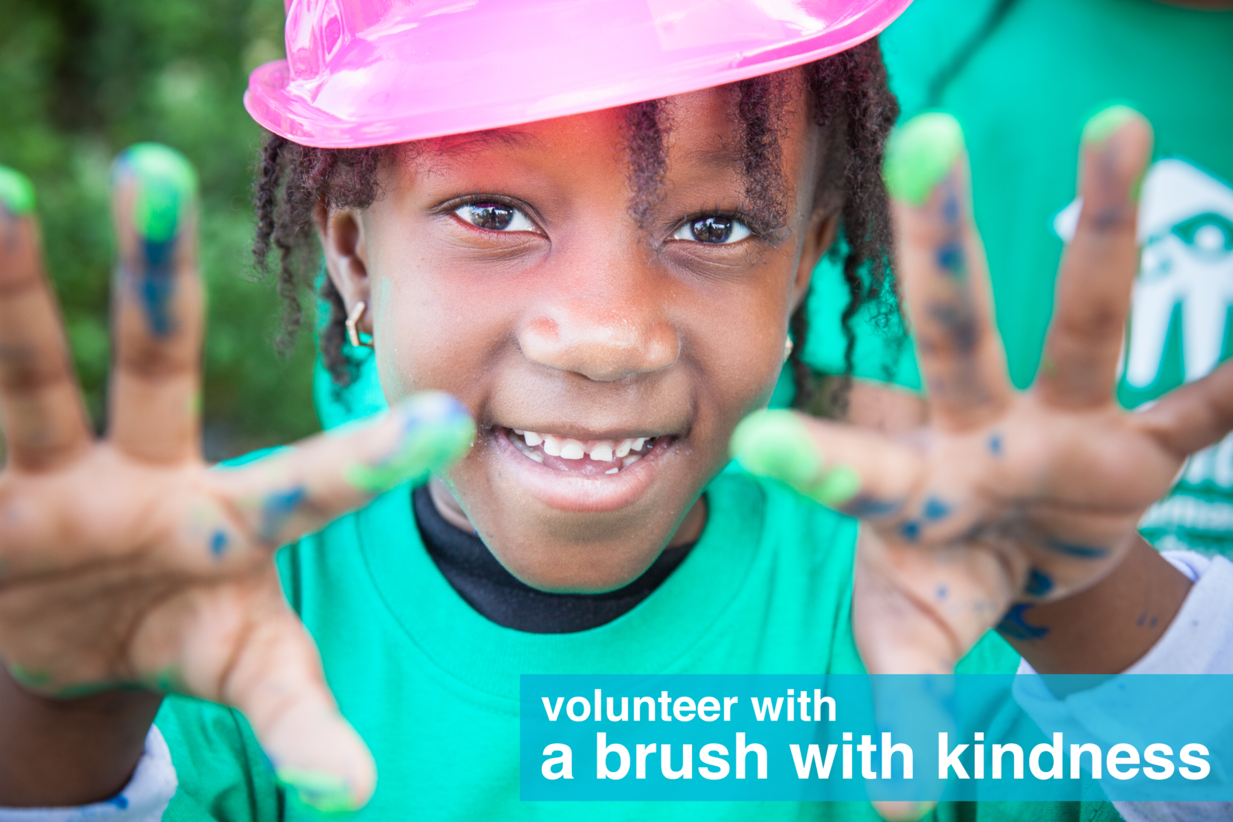 volunteer with A Brush With Kindness